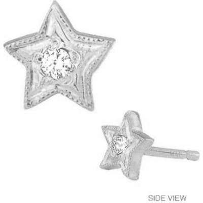 Mini Mini Jewels Diamond Icon Star Earring