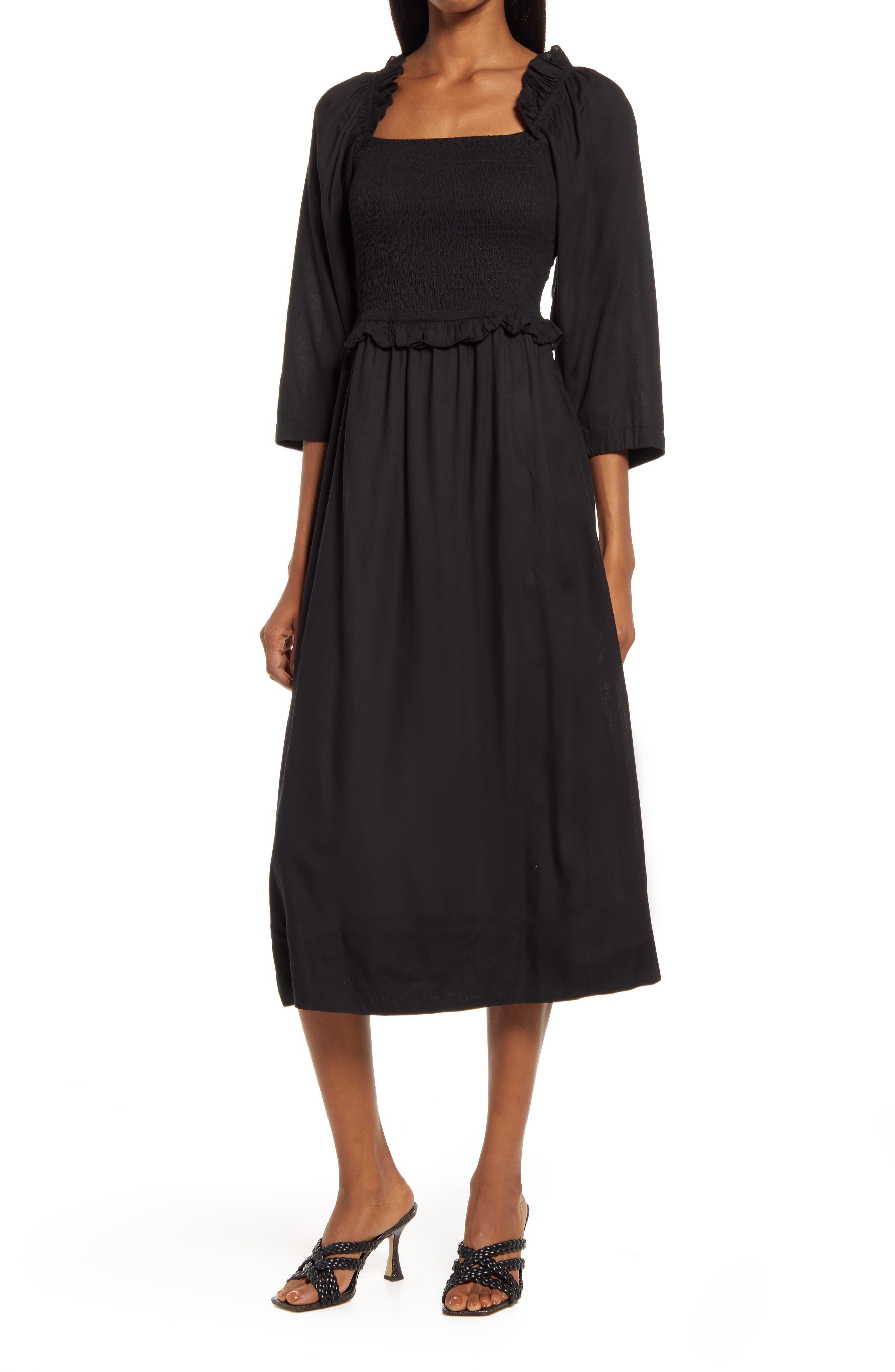 Women's Mindy Smock Bodice Dress