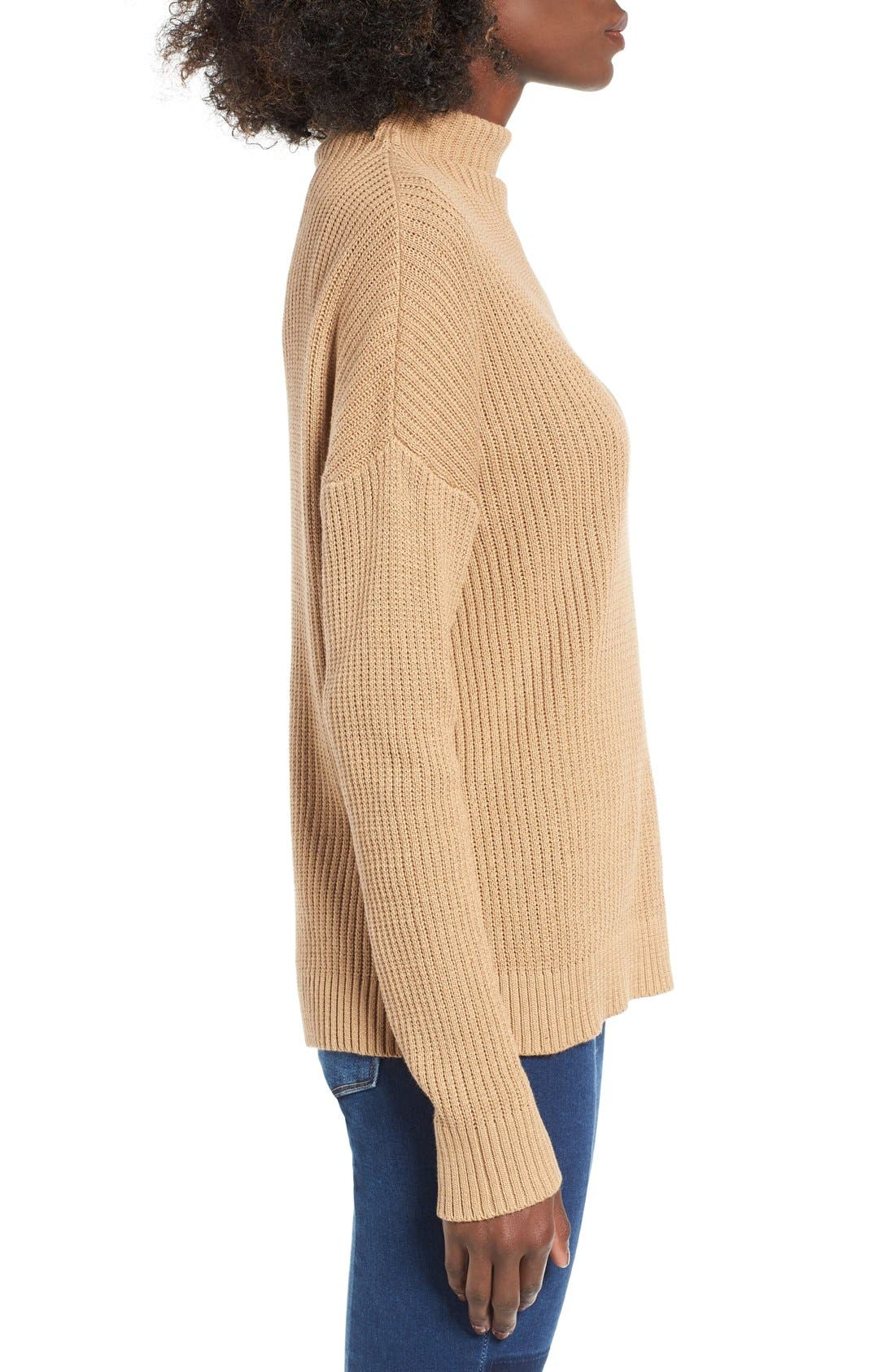 ,                             Mock Neck Sweater,                             Alternate thumbnail 13, color,                             251