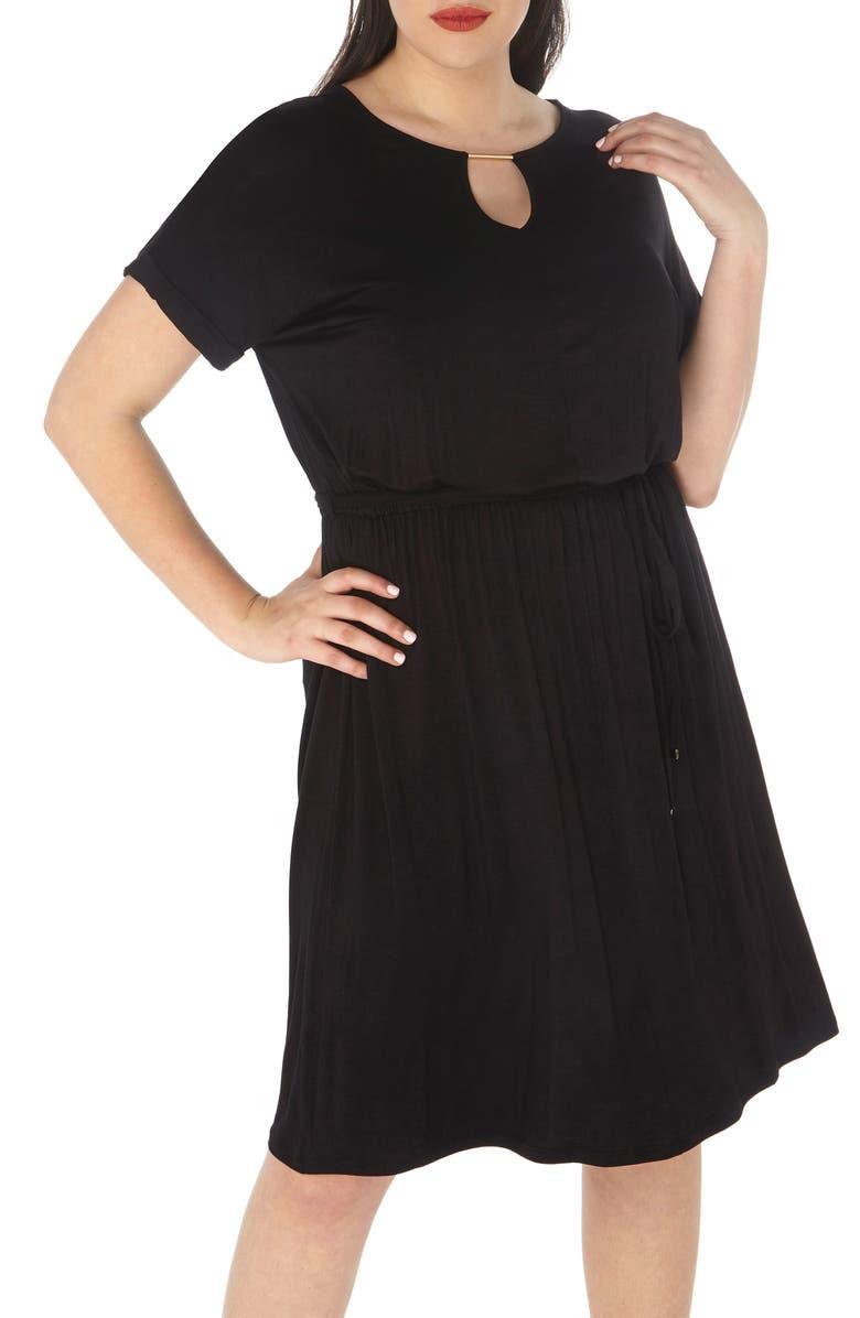 DOROTHY PERKINS Jersey Dress, Main, color, 001