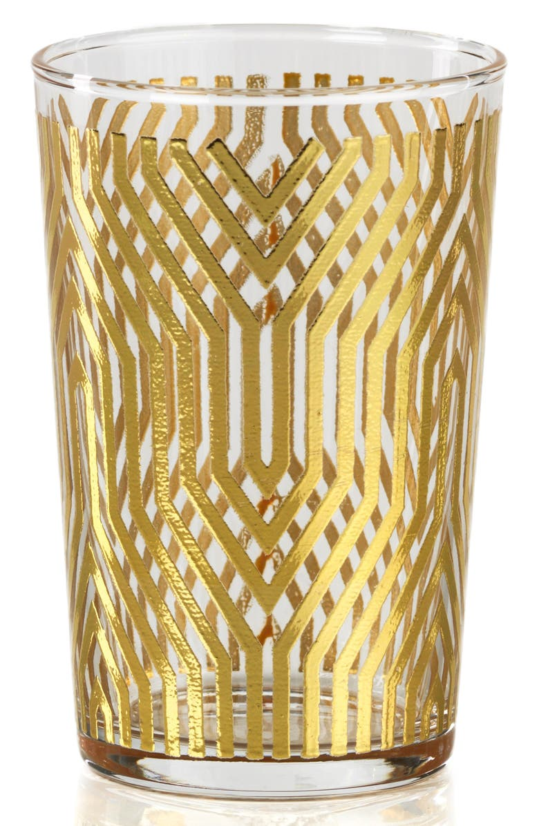ZODAX Set of 6 Geometric Pattern Tealight Candleholders, Main, color, 710