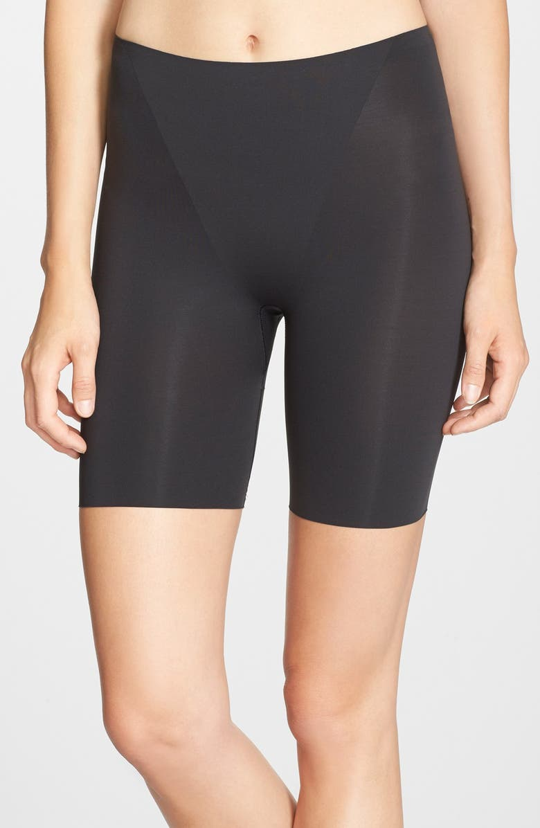 SPANX<SUP>®</SUP> 'Trust Your Thinstincts' Mid Thigh Shaper, Main, color, 001