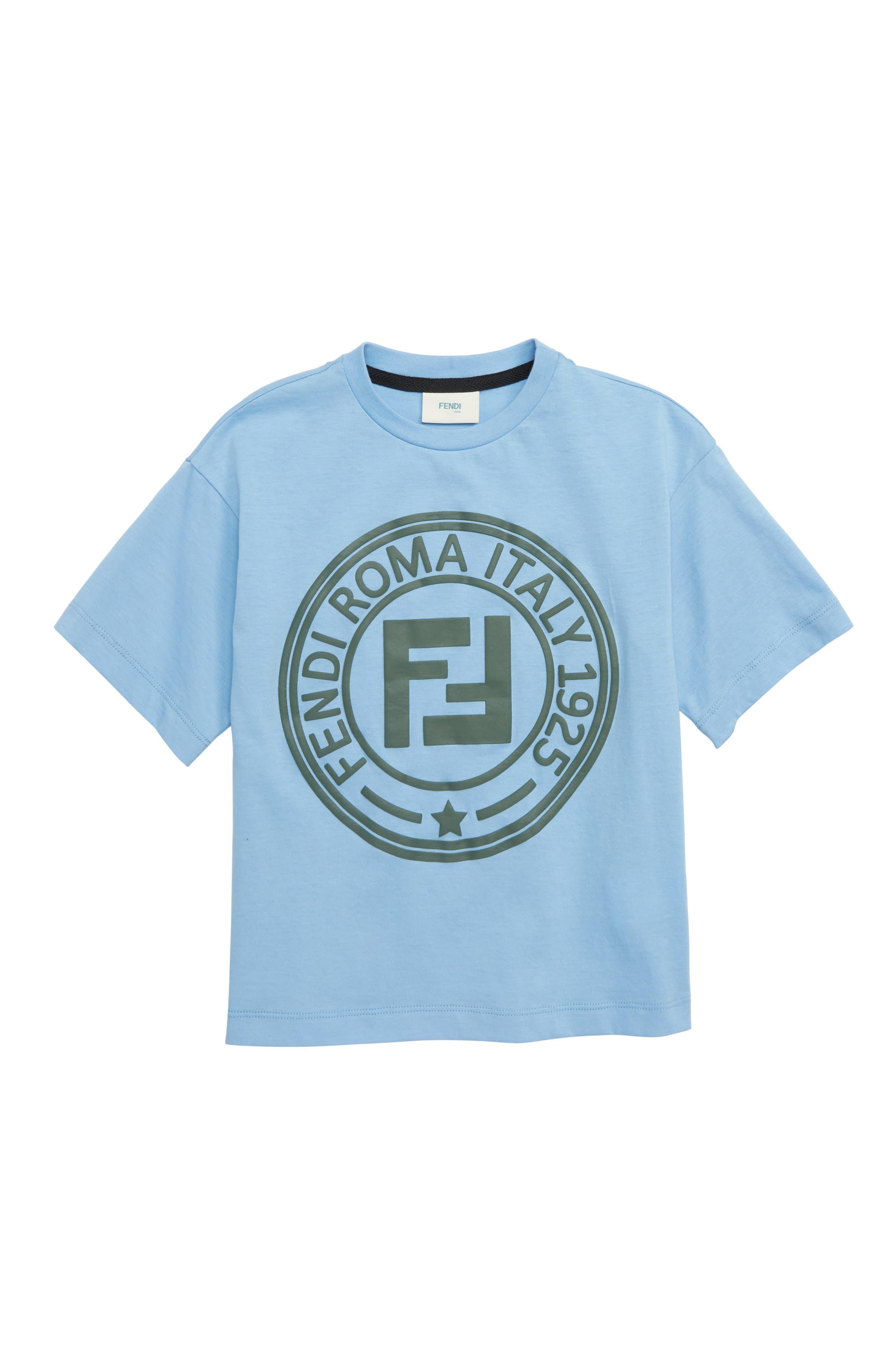 Logo T-Shirt, Main, color, F15A3 BLUE