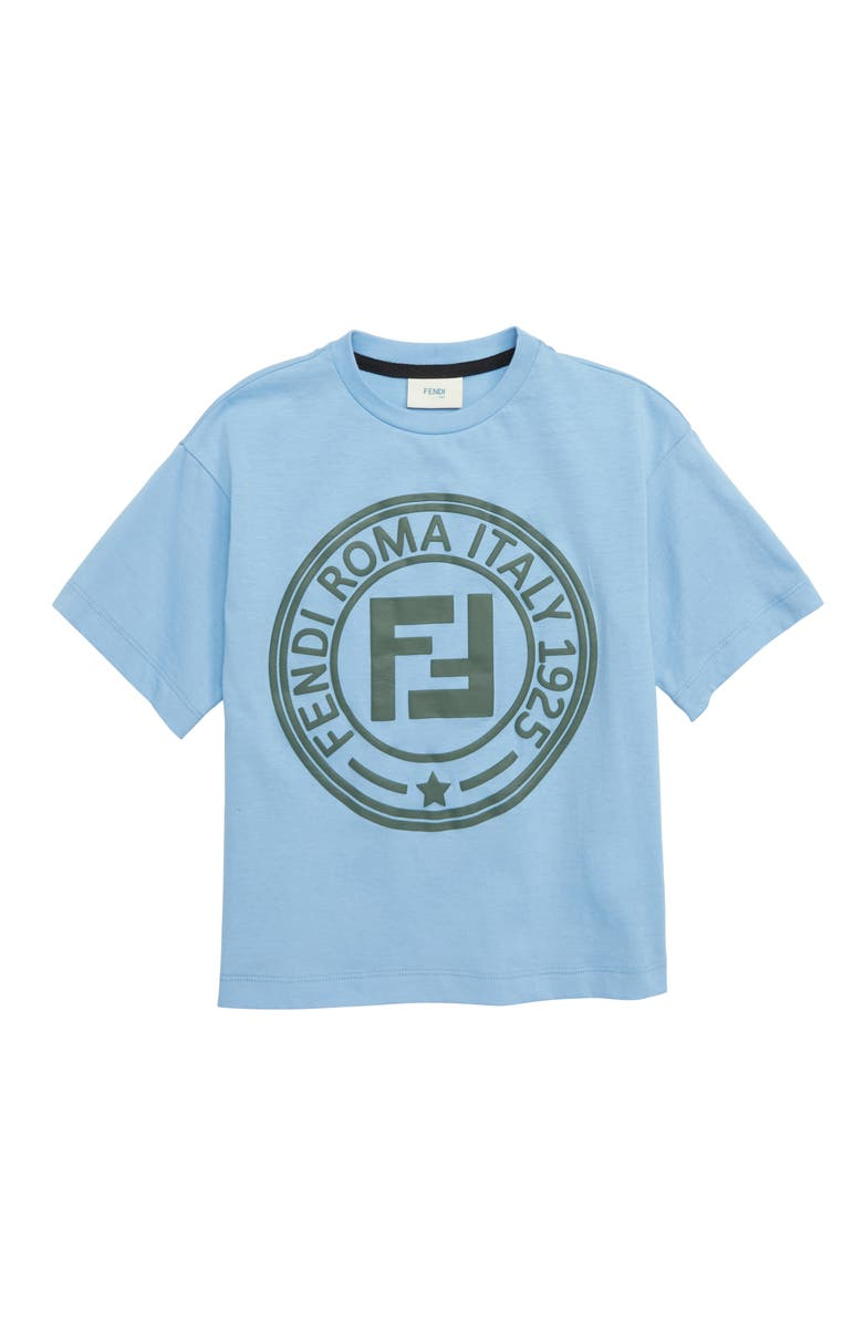 Logo T Shirt by Fendi