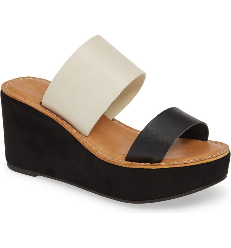 CHINESE LAUNDRY Ollie 2 Wedge Slide Sandal, Main, color, 001