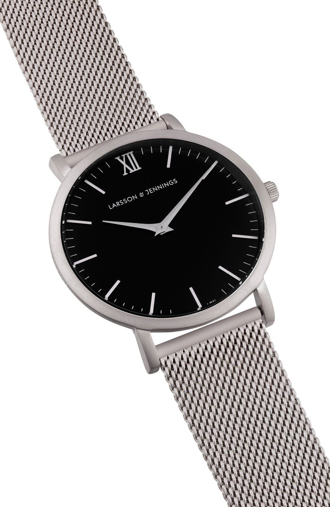,                             Lugano Mesh Strap Watch, 40mm,                             Alternate thumbnail 26, color,                             041