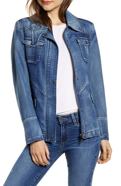 Image of Sam Edelman Denim Field Jacket