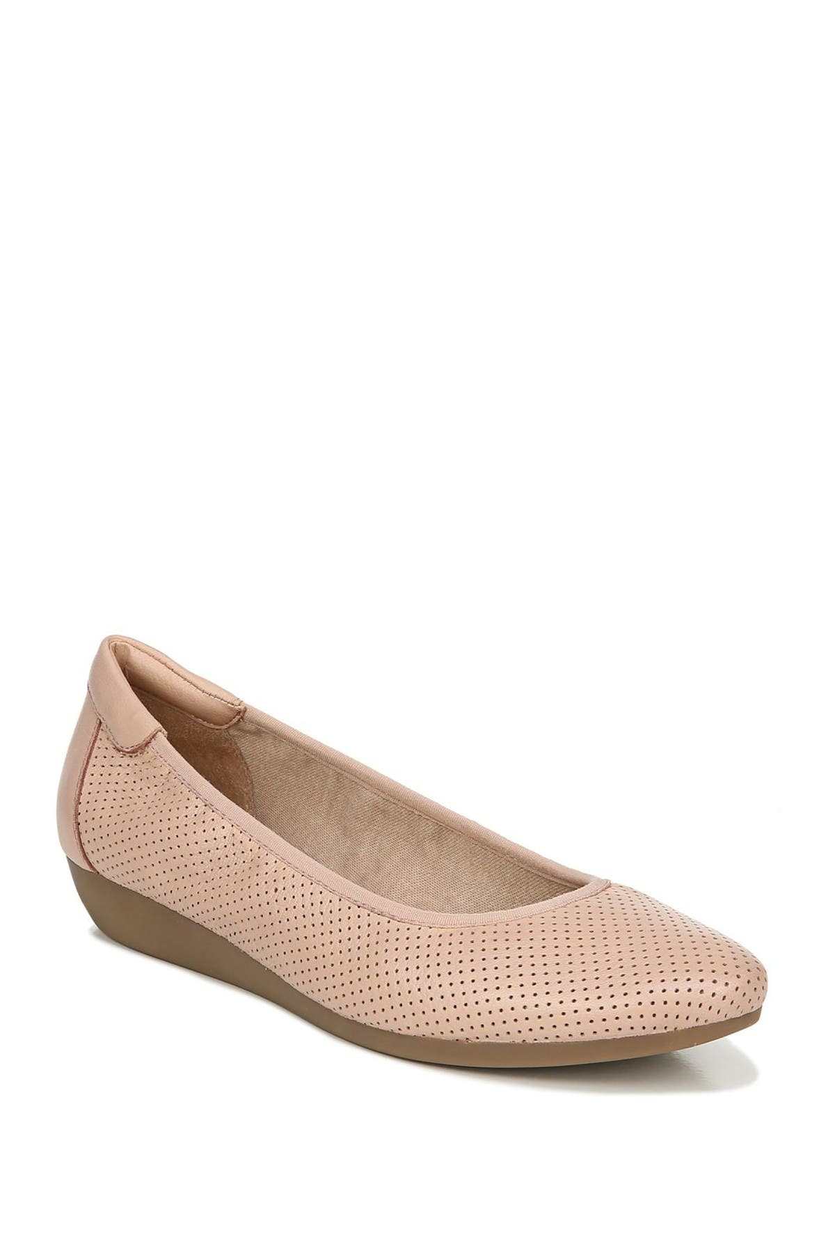 Image of SOUL Naturalizer Vicki Leather Wedge Flat - Wide Width Available