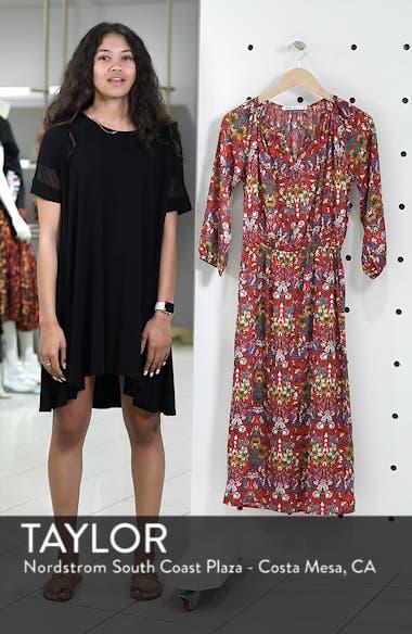 Floral Blouson Dress, sales video thumbnail