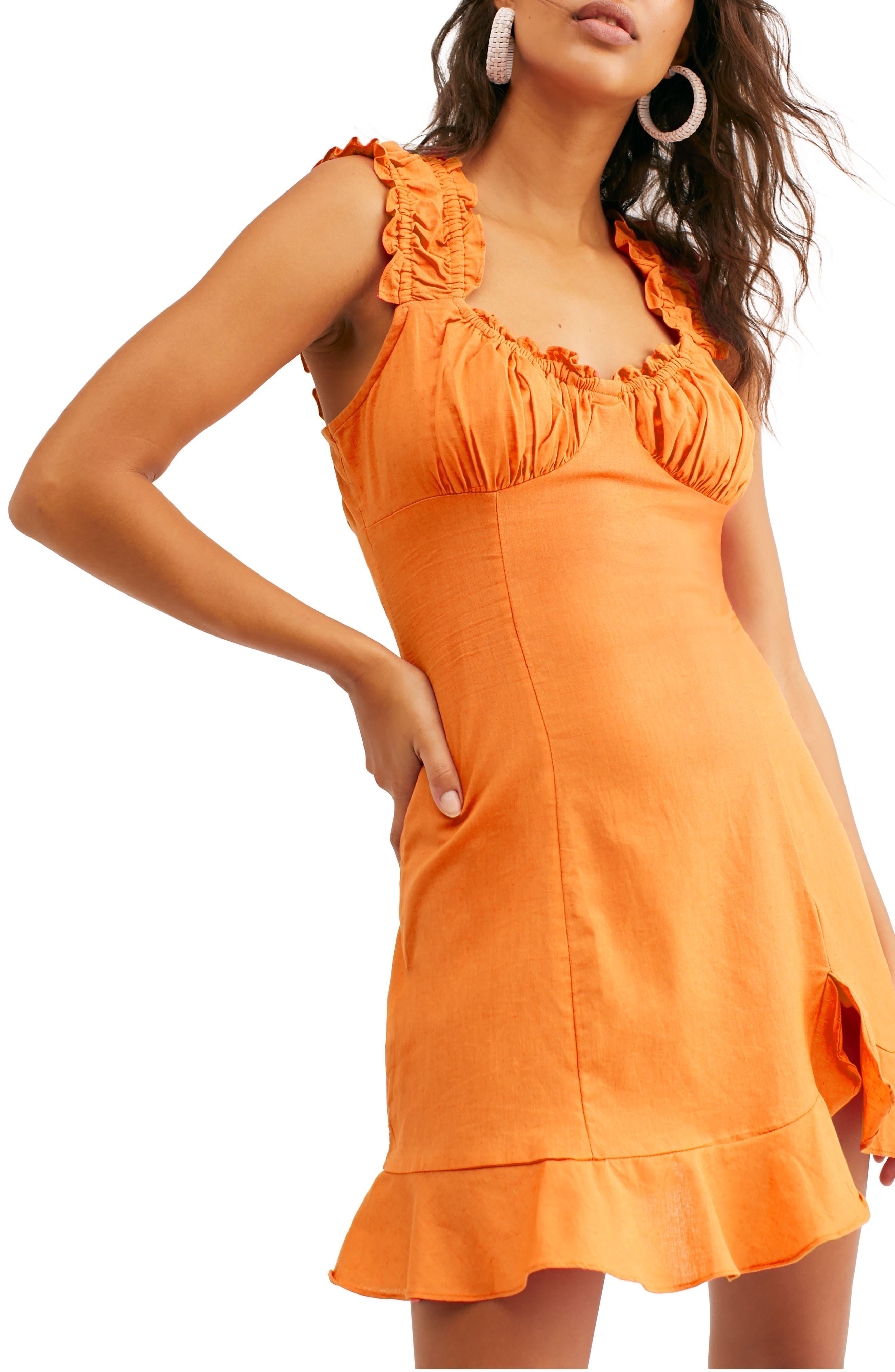 Endless Summer By Free People Like A Lady Sundress, Orange
