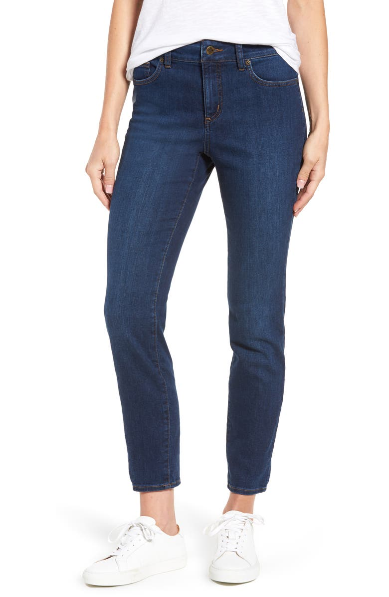 NYDJ Alina Stretch Skinny Jeans, Main, color, COOPER