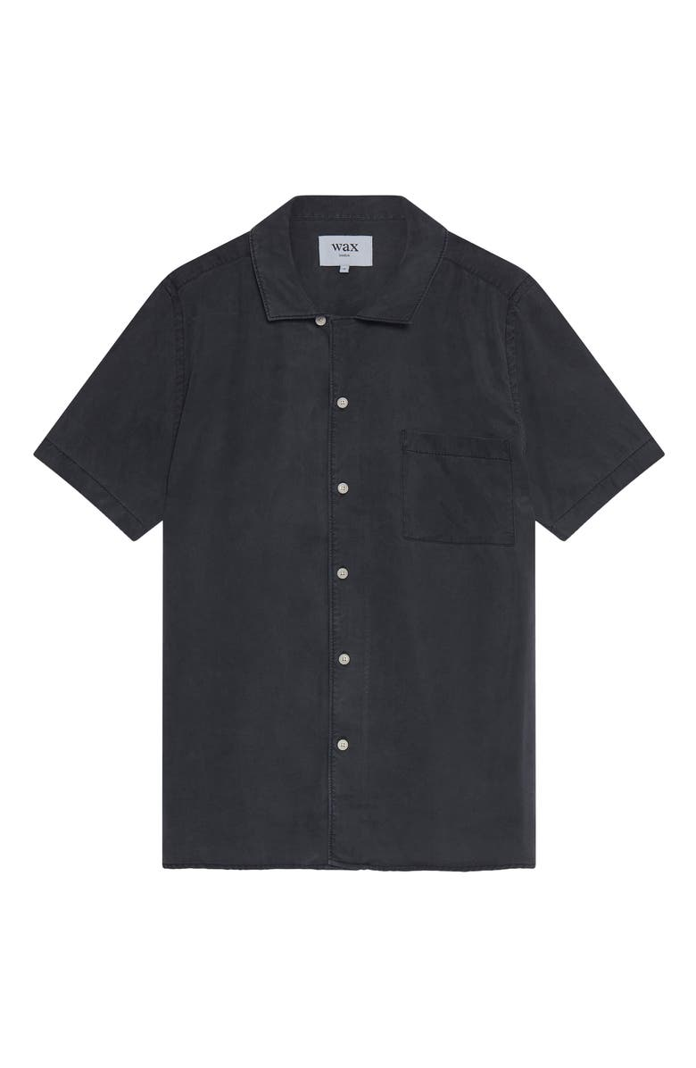 WAX LONDON Fazely Short Sleeve Button-Up Shirt, Main, color, 001