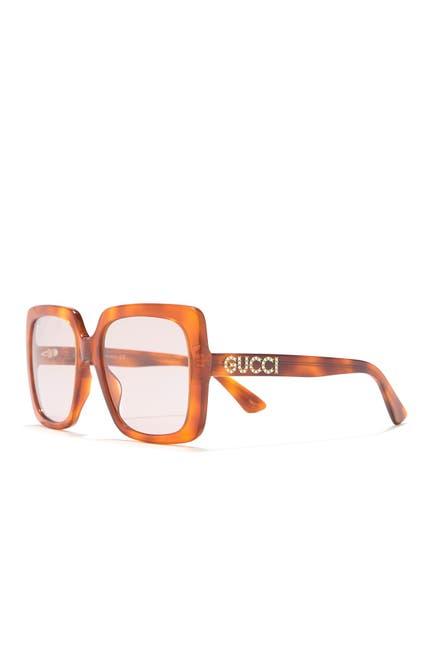 Image of GUCCI 54mm Oversized Sunglasses