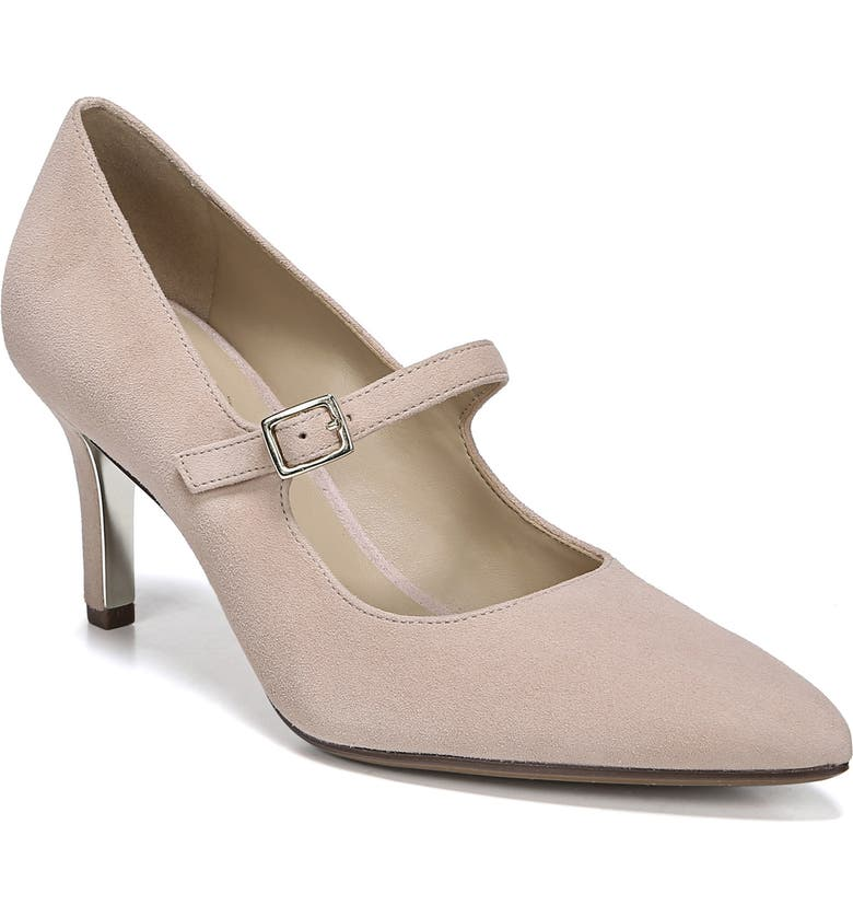 NATURALIZER Naiya Mary Jane Pump, Main, color, VINTAGE MAUVE SUEDE