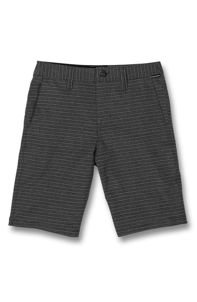 VOLCOM Frickin Surf N' Turf Mix Hybrid Shorts, Main, color, NEW BLACK
