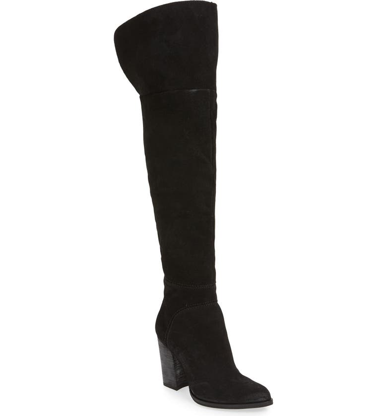 DOLCE VITA 'Cash' Over the Knee Boot, Main, color, 001