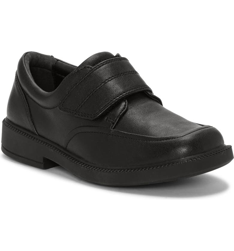 FIRST SEMESTER Max Square Toe Shoe, Main, color, BLACK