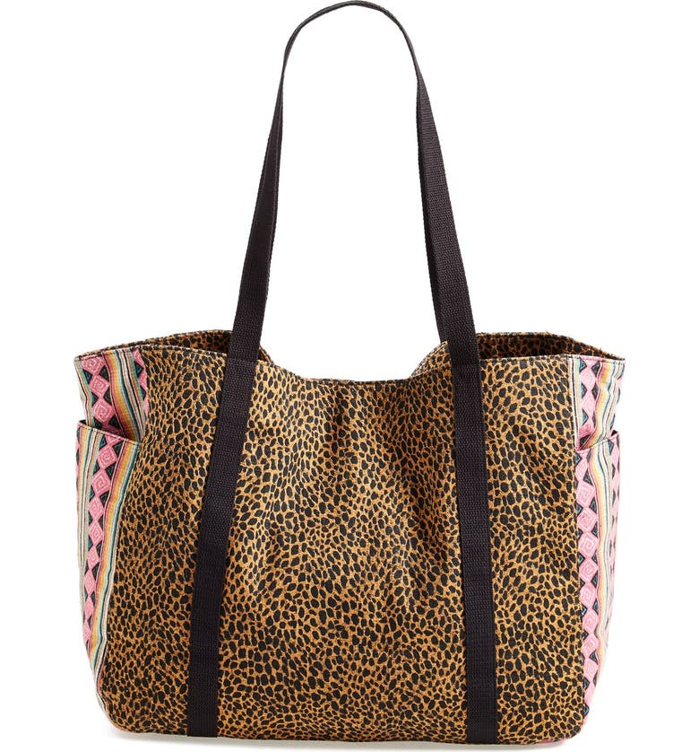 VOLCOM 'Absolutely Shore' Tote, Main, color, 001