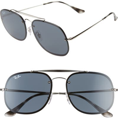 Ray-Ban 5m Square Aviator Sunglasses - Silver