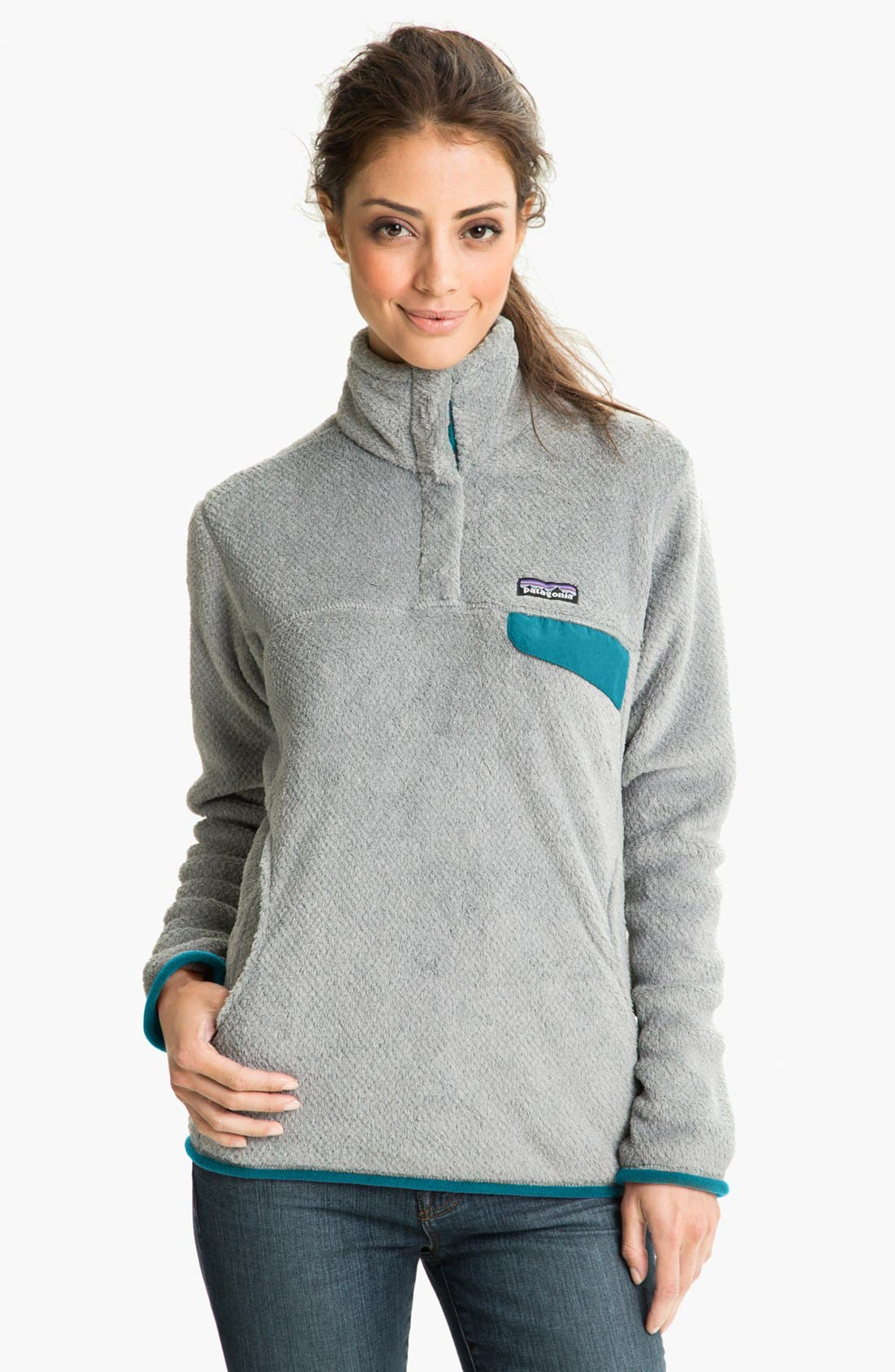 ,                             Re-Tool Snap-T<sup>®</sup> Fleece Pullover,                             Main thumbnail 80, color,                             022