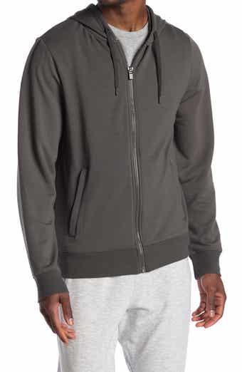 90 Degree by Reflex Men's Fleece-Lined Full-Zip Hoodie