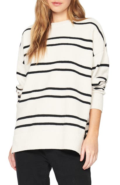 Sanctuary EVERYDAY STRIPE TUNIC SWEATER