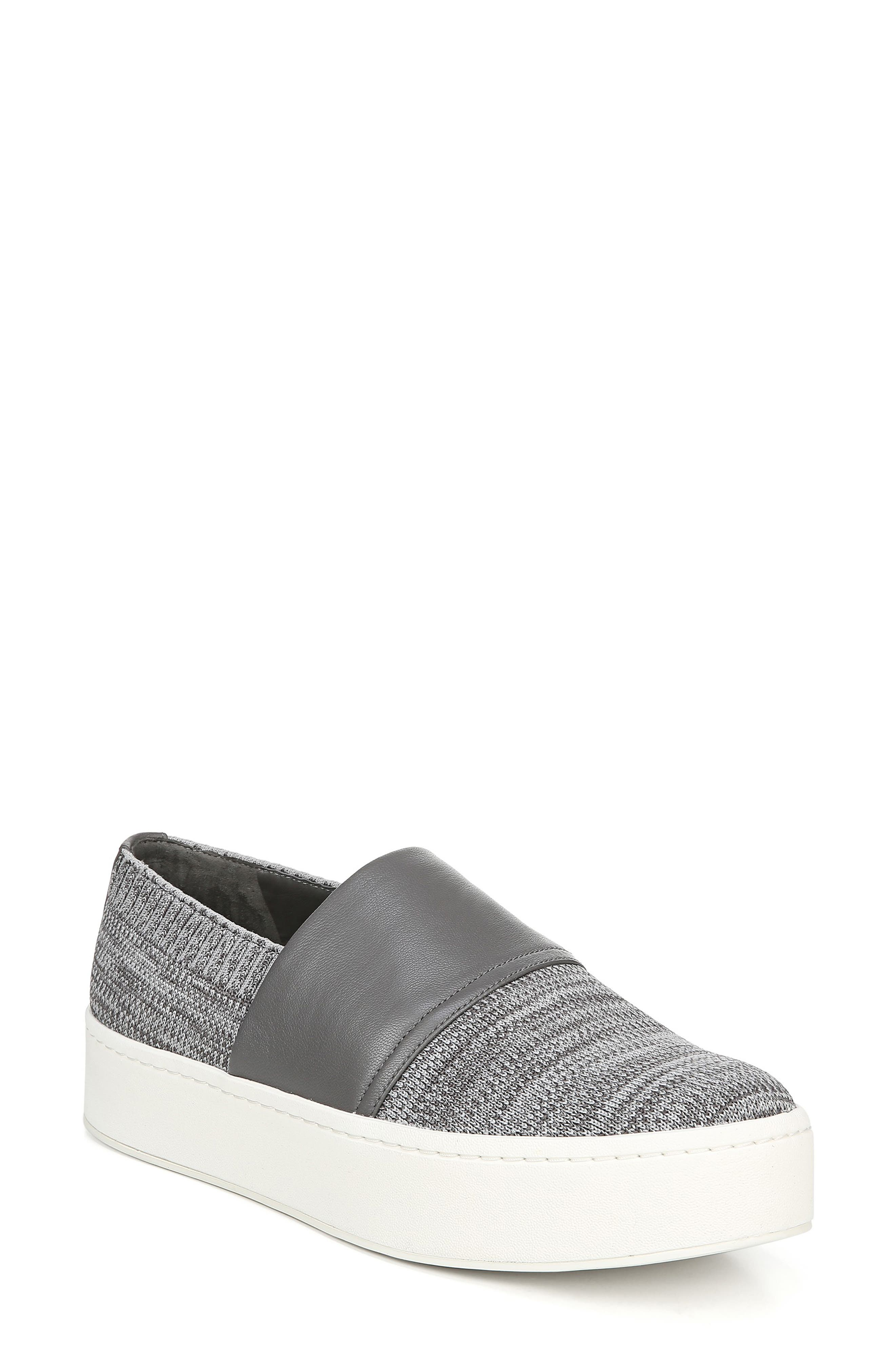 Image of Vince Ward Knit Slip-On Sneaker