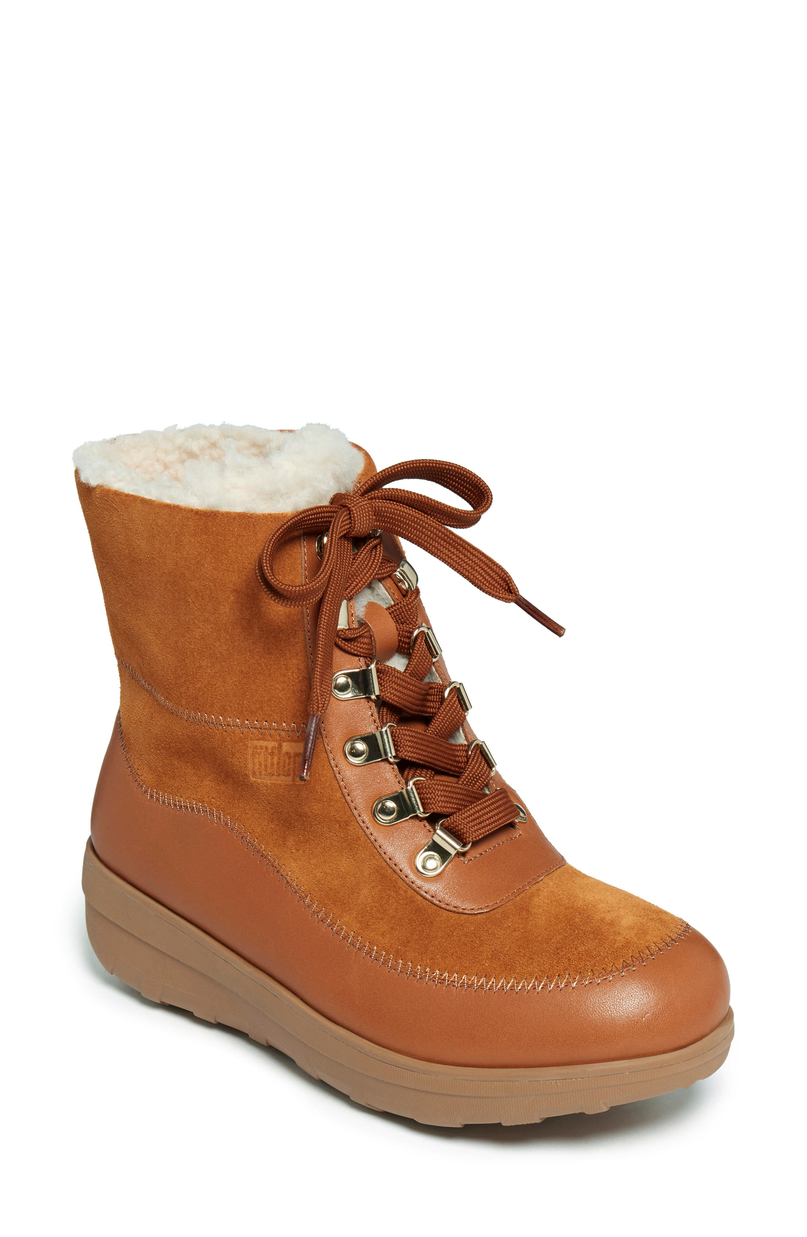 Mukluk Iii Genuine Shearling Lined Water Resistant Boot