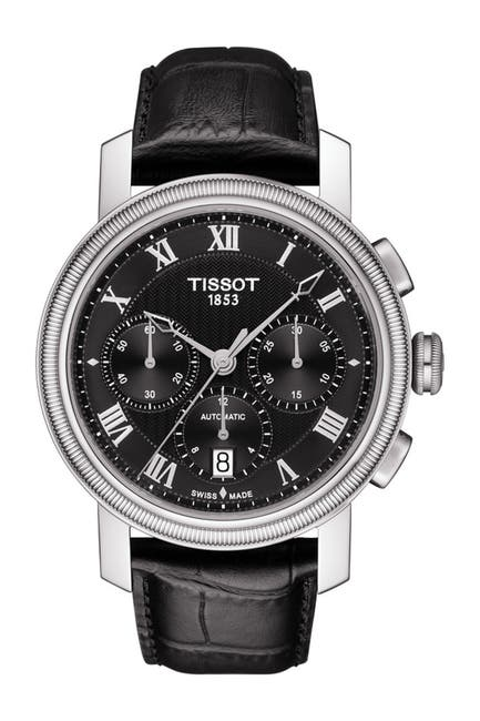 Image of Tissot Men's Bridgeport Automatic Chronograph Valjoux Watch, 42mm