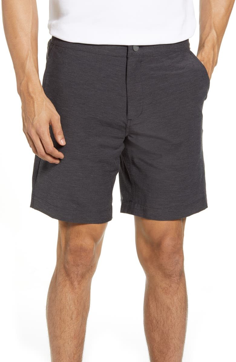 FAHERTY All Day Shorts, Main, color, CHARCOAL