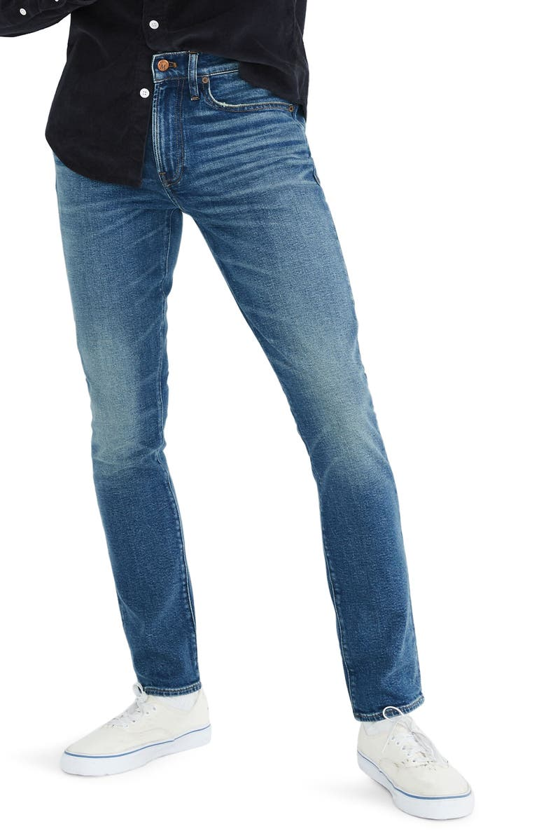 MADEWELL Skinny Jeans, Main, color, EADES