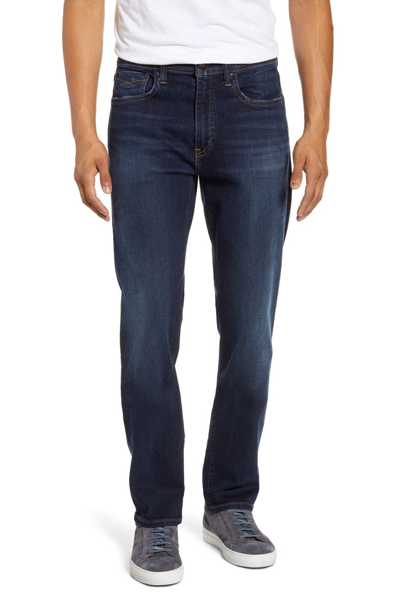 REVTOWN Automatic Straight Leg Jeans, Main, color, WASHED INDIGO