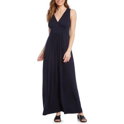 Karen Kane Jersey Knit Maxi Dress, Blue