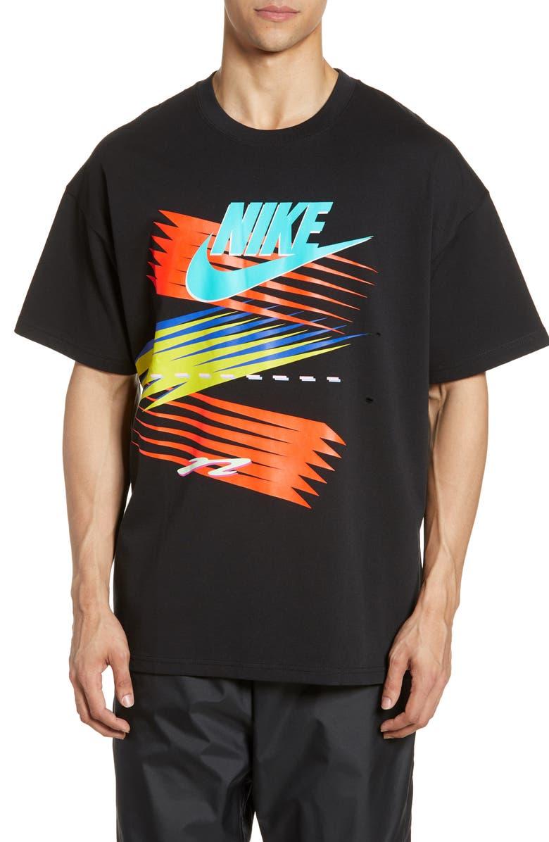 NIKE x atmos Men's T-Shirt, Main, color, BLACK