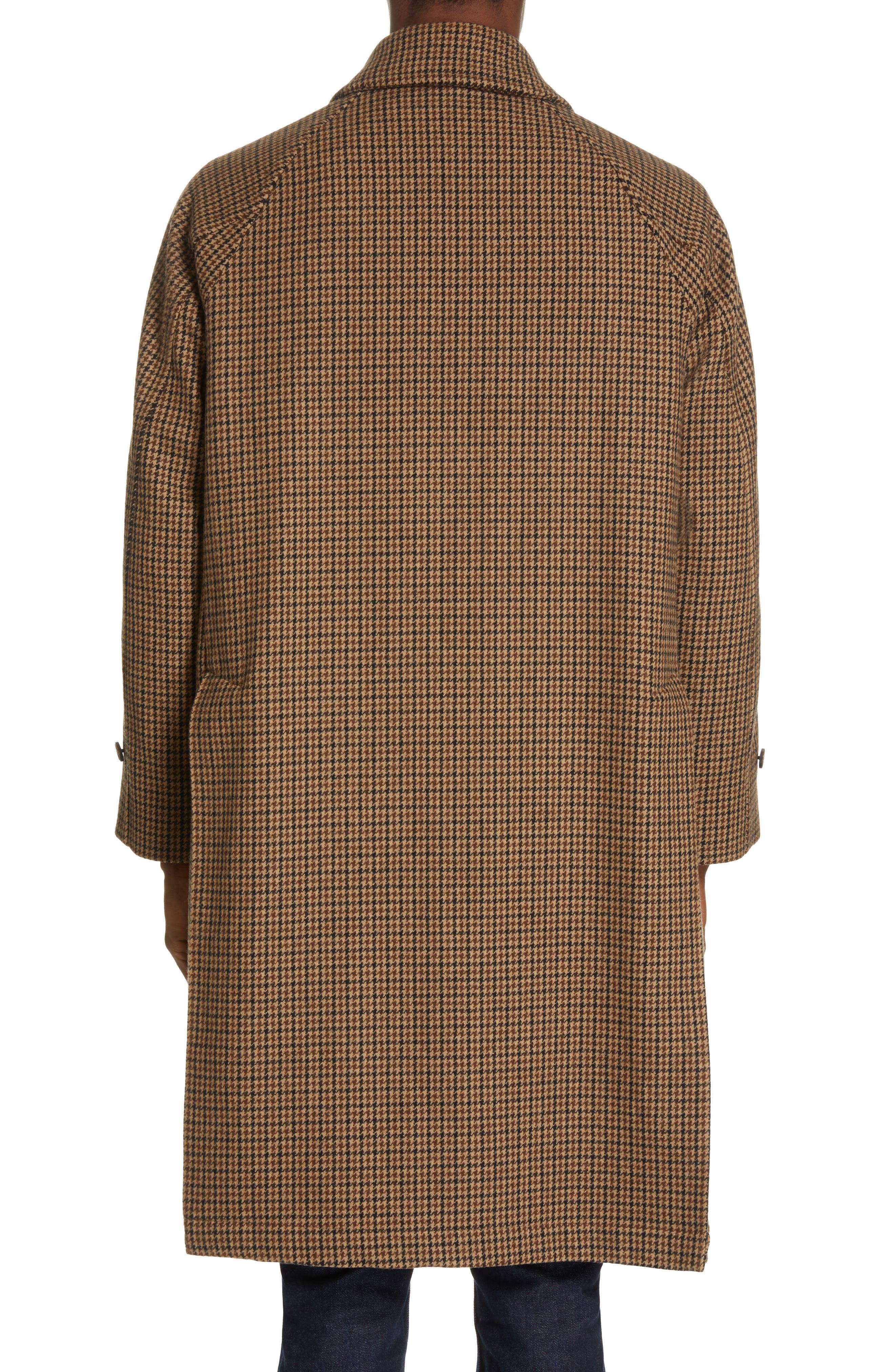 ,                             Gents Gun Club Check Virgin Wool Coat,                             Alternate thumbnail 3, color,                             GUNCLUB