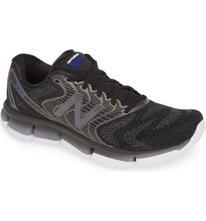 NEW BALANCE Rubix Running Shoe, Main, color, BLACK/ GREY
