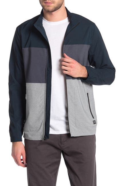 Image of TRAVIS MATHEW Johnson Colorblock Full Zip Jacket