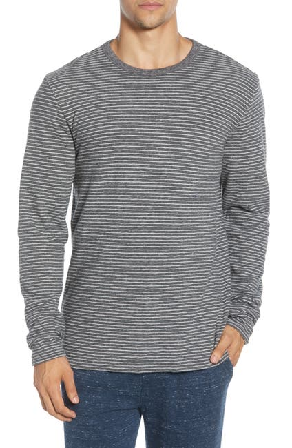 Image of FAHERTY BRAND Luxe Heather Regular Fit Reversible Crewneck T-Shirt