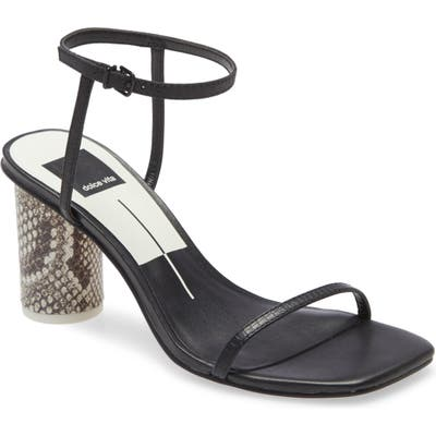 Dolce Vita Naomey Ankle Strap Sandal- Black