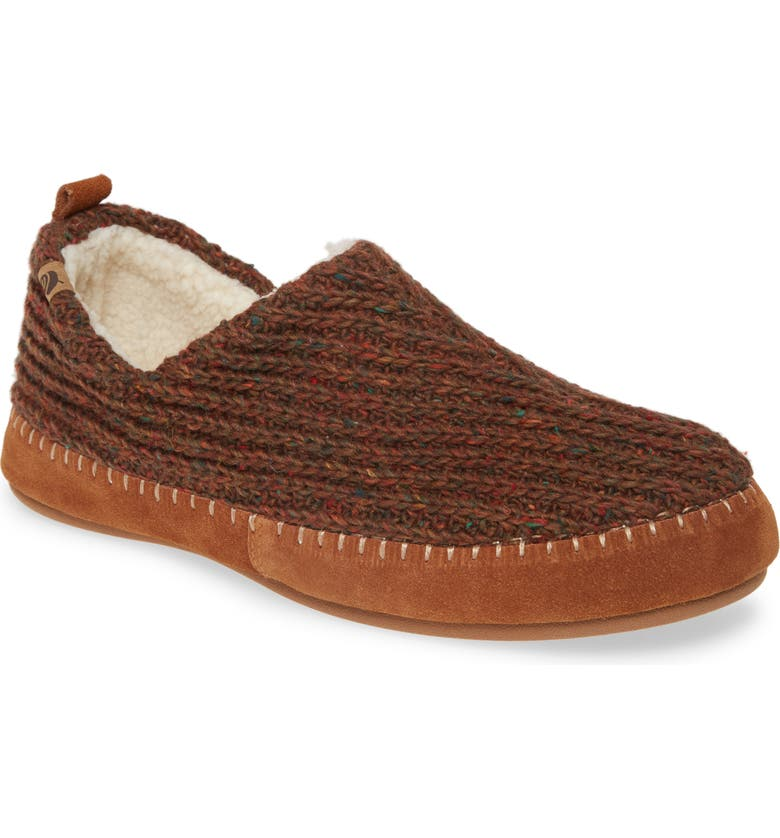 ACORN Camden Slipper, Main, color, WALNUT