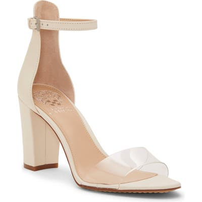 Vince Camuto Corlina Ankle Strap Sandal- White (Nordstrom Exclusive)