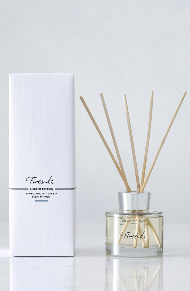 THE WHITE COMPANY Fireside Reed Diffuser, Main, color, FIRESIDE