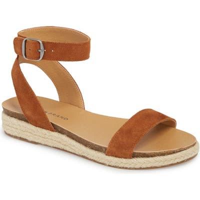 Lucky Brand Garston Espadrille Sandal- Brown