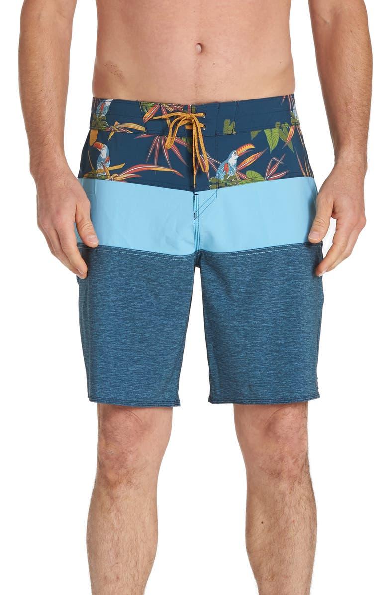 BILLABONG Tribong Pro Board Shorts, Main, color, INDIGO