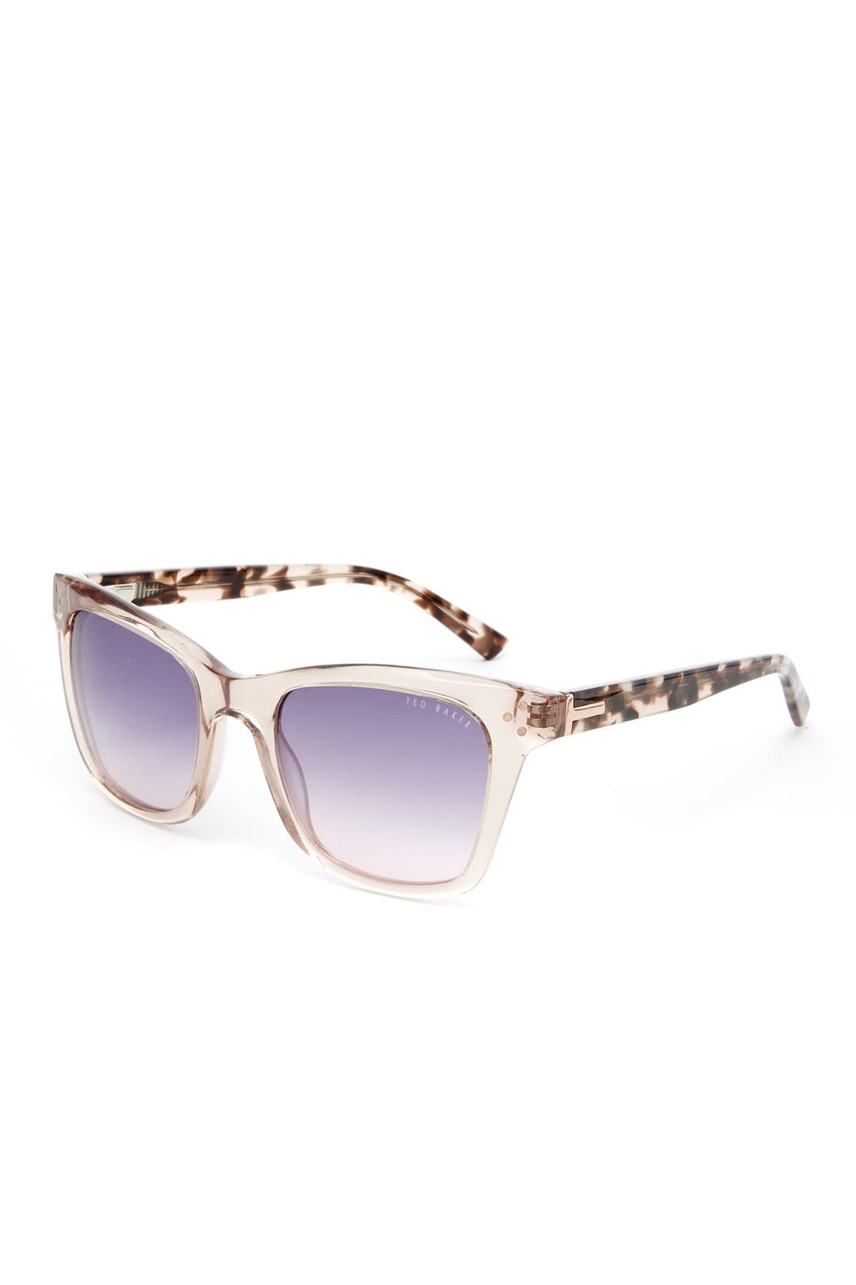 Image of Ted Baker London 56mm Square Cat Eye Sunglasses