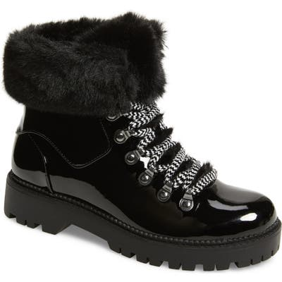 Katy Perry The Henry Faux Fur Bootie- Black
