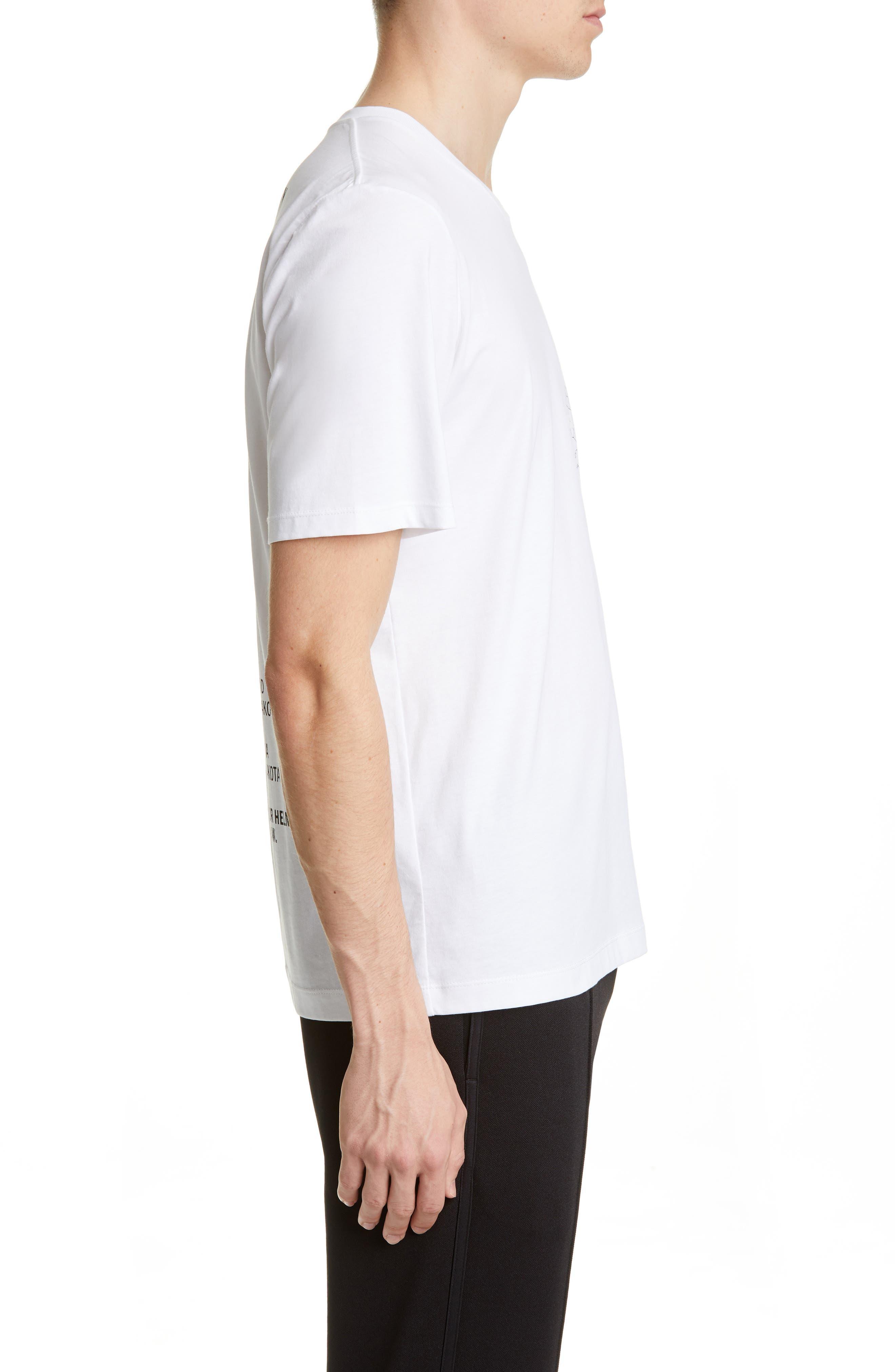 Helmut Lang T-shirts Laws Graphic T-Shirt