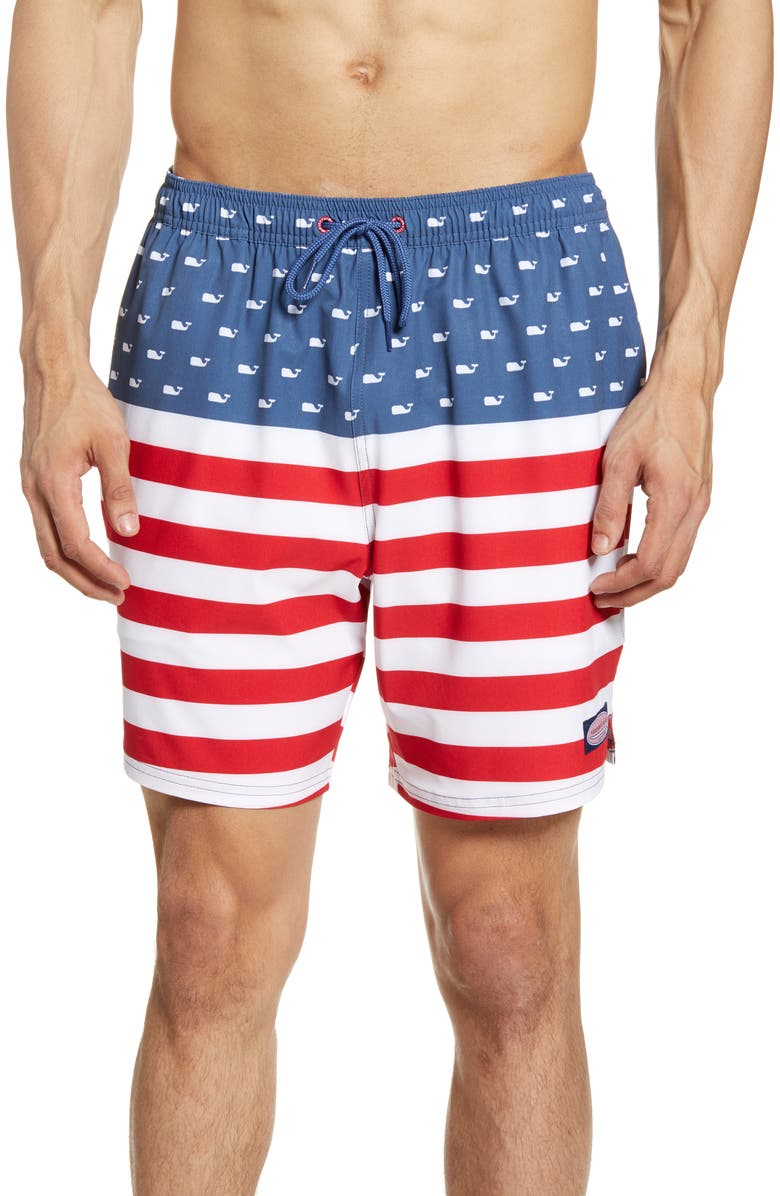 Vineyard Vines USA Chappy Swim Trunks