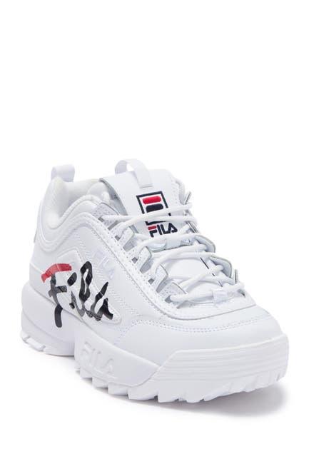 Image of FILA USA Disruptor II Script Sneaker