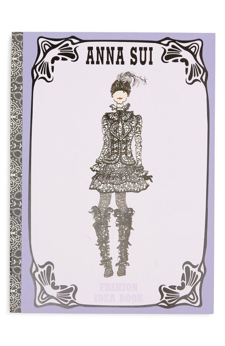 ANNA SUI Fashion Idea Book Journal, Main, color, 500